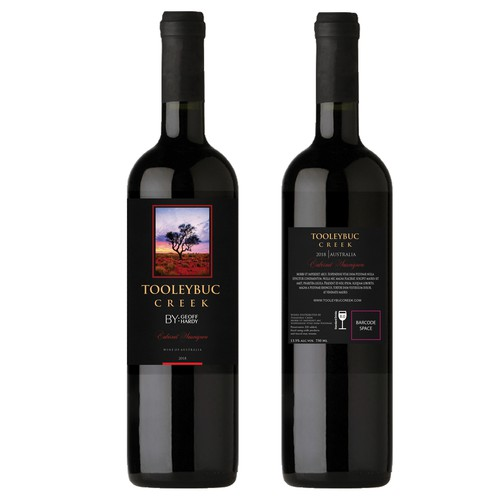 Australian Wine Label