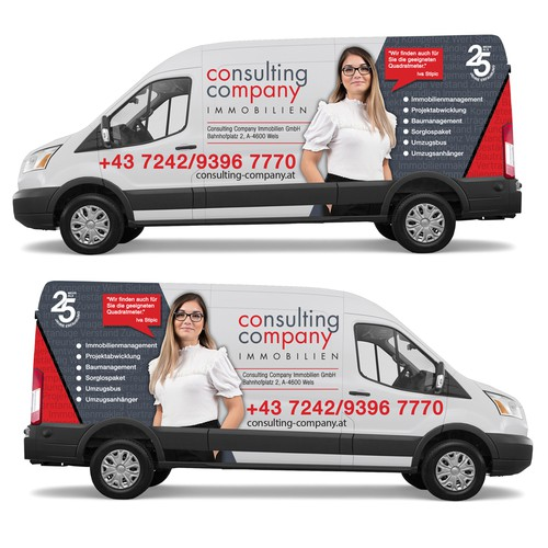Van Wrap for Consulting Company