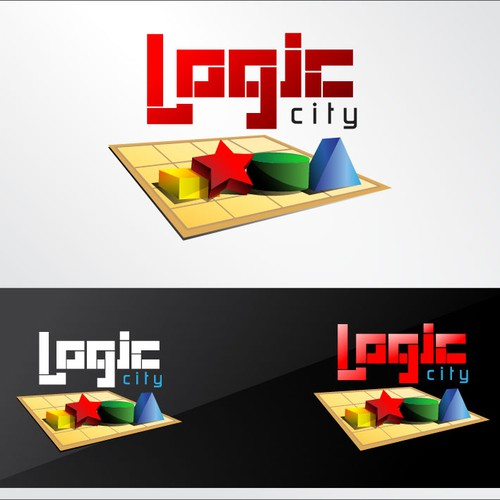 In contest App Logo for a cool iPad / iPhone puzzles app