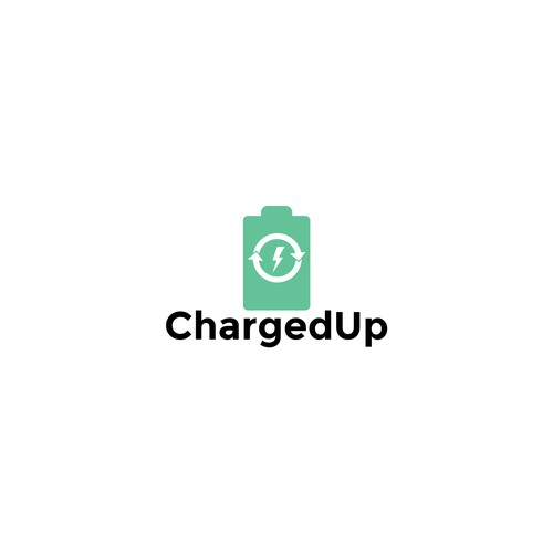 Tech startup - app - logo redesign - sharing economy ChargedUp.
