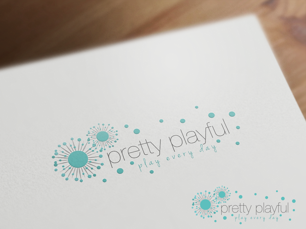 logo wanted for pretty playful - modern girls clothing