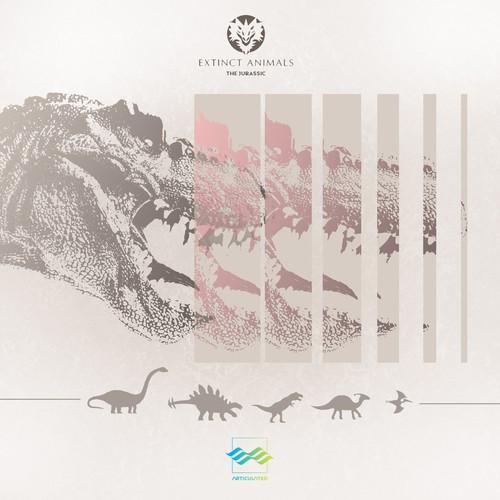 Album Cover | Unique Sound Library of 'Extinct Animals