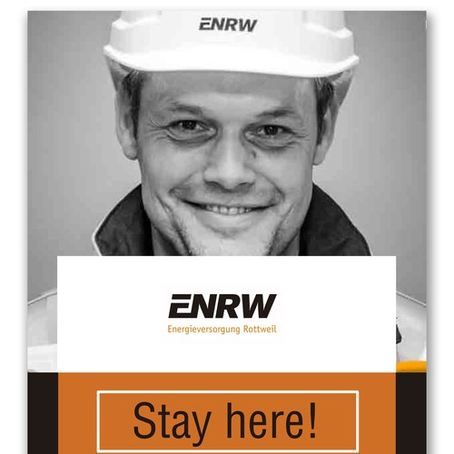 Layout for a magazine of a regional energy supplier, ERNW