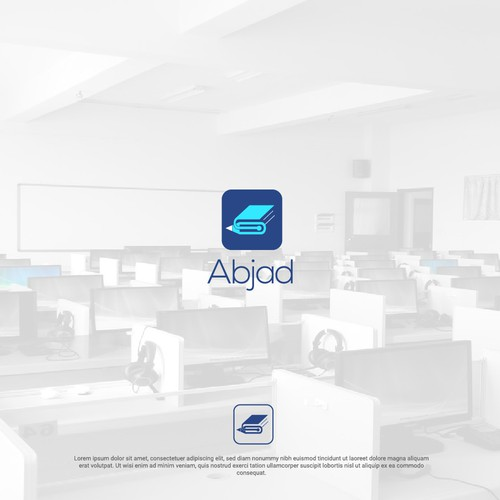 Logo Concept For Abjad