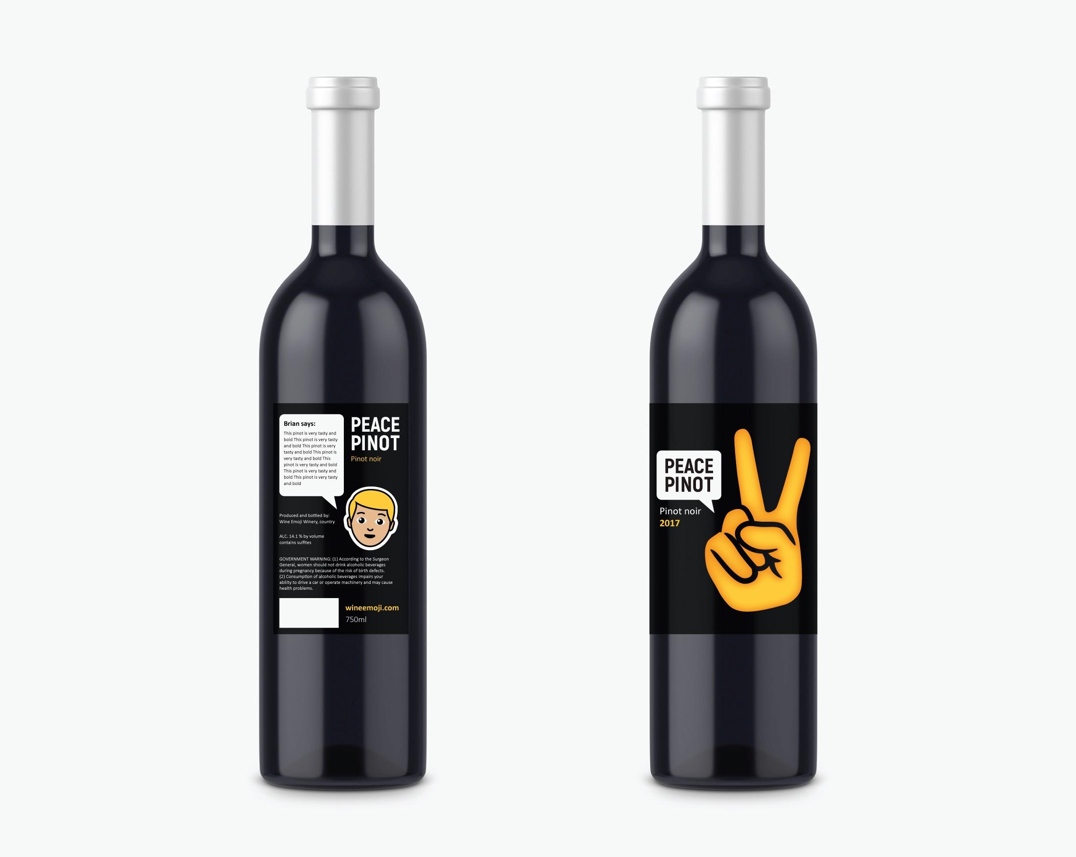 Emoji's and Wine