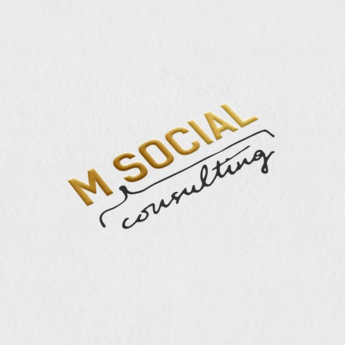 SImple concept for consulting logo