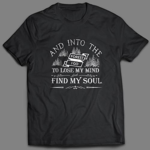 Outdoor t-shirt design