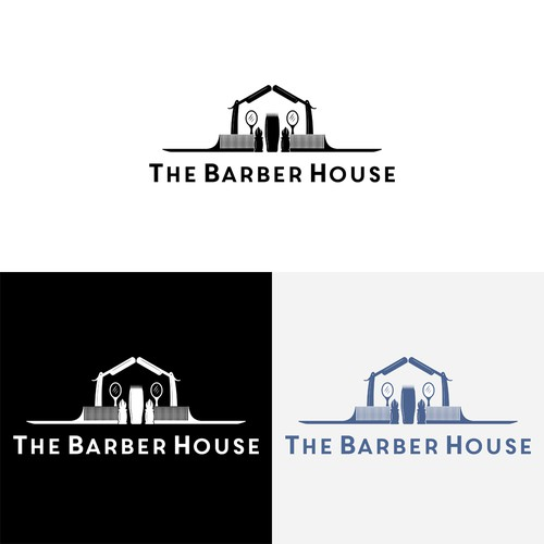 Logo design for a barber shop.