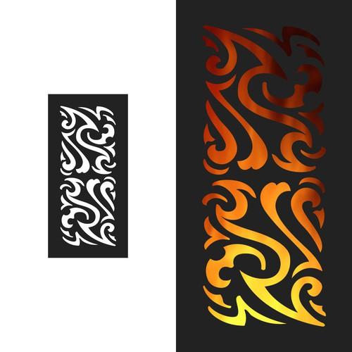 Pattern Design for LED Monster