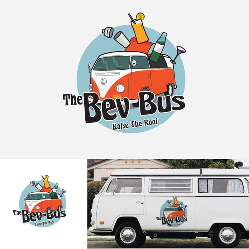 The Bev Bus Logo