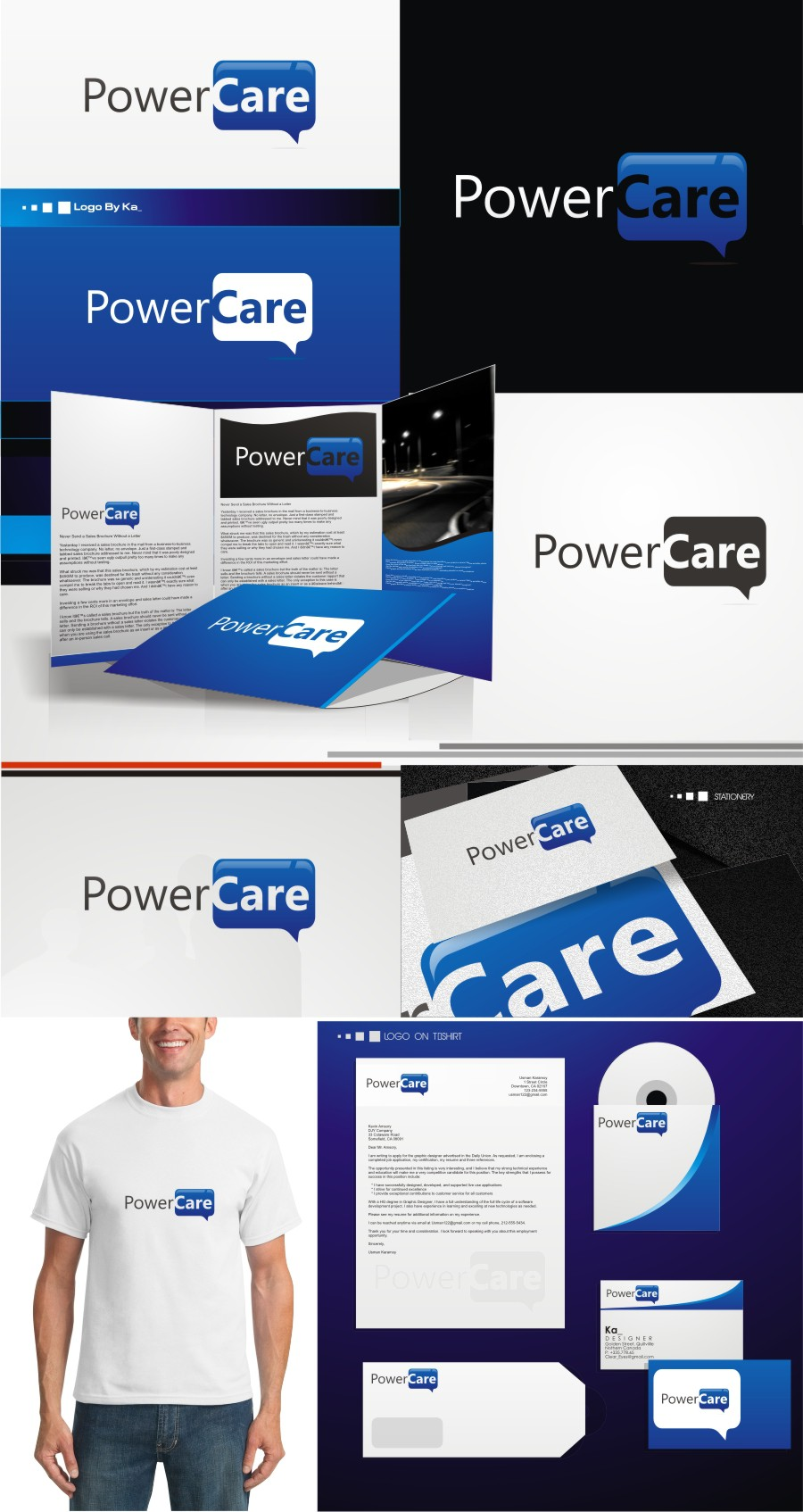 Help PowerCare with a new logo