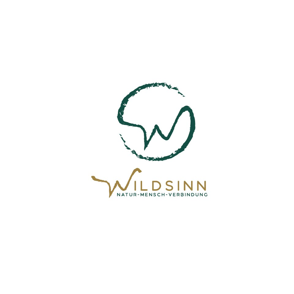 logo kickstarts fantasy going out in the wild nature connection startup (wildsinn.at)
