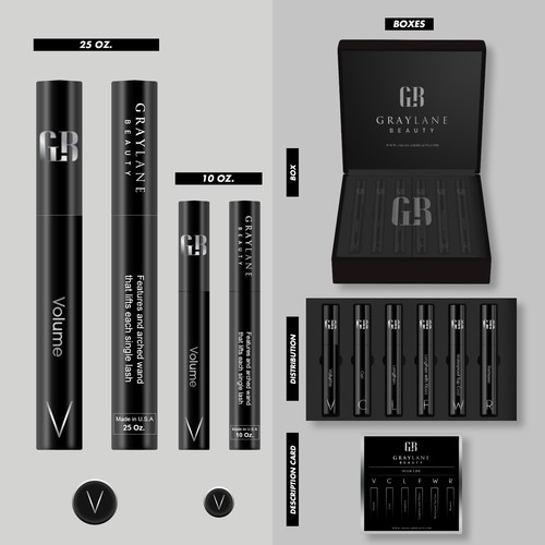 Proposal Design product packaging for cool new mascara line