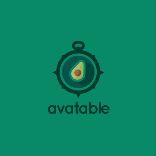 Logo for a restaurant reservations website/software/app