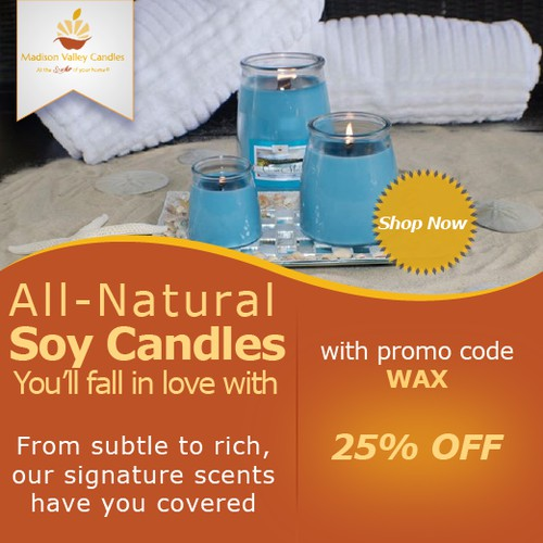 Web banner 125*125 - Madison Valley Candle Company
