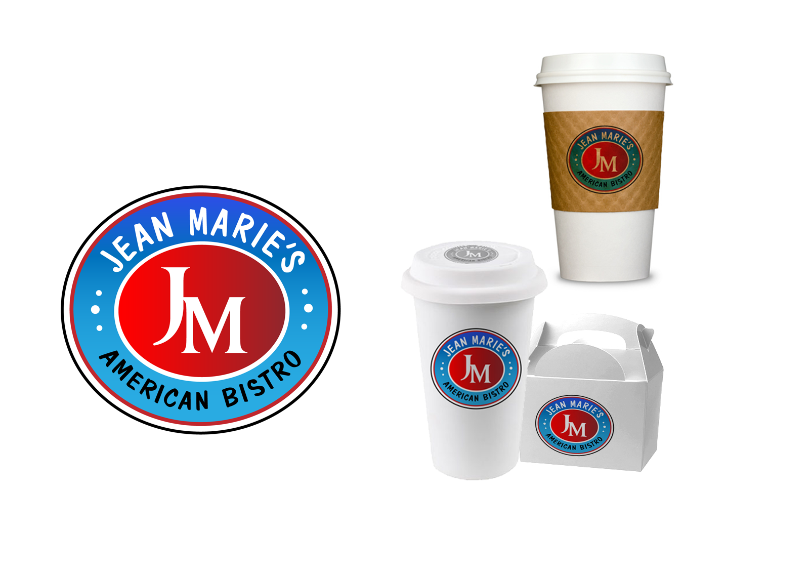 Jean Marie's American Bistro needs a new logo