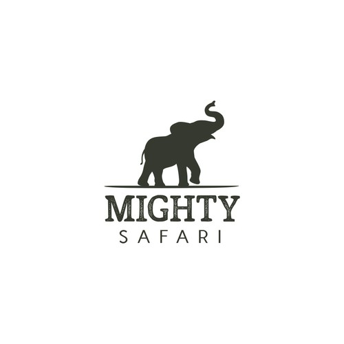 Modern and bold logo concept for Mighty SafariModern and bold logo concept for Mighty Safari