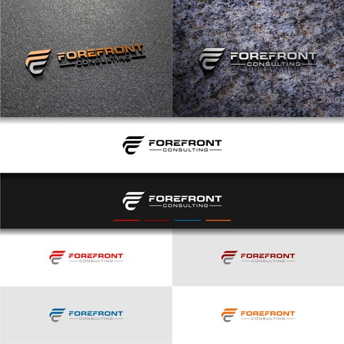 professional logo for ForeFront Consulting