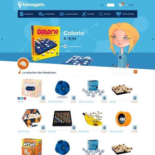 Brain games webshop