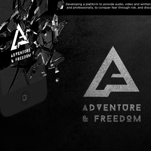 "Logo proposal for ""Adventure & Freedom"""