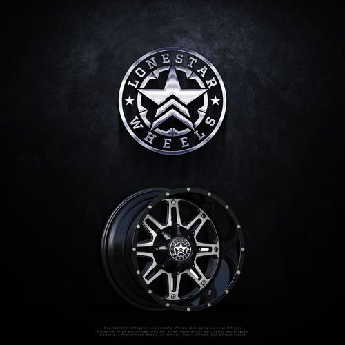 Logo design for Lonestar Wheels