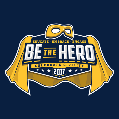 Logo concept for Be the Hero