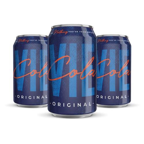 New Modern Cola design