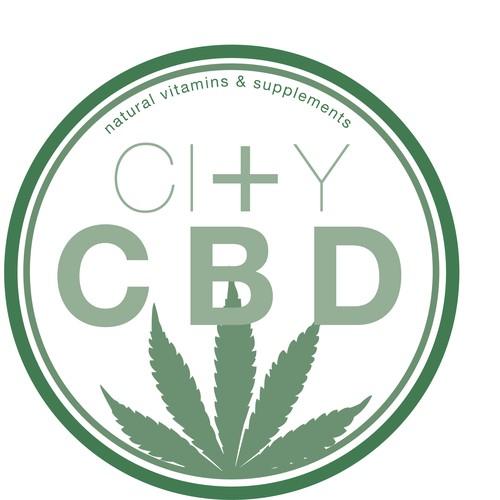 Logo for a CBD vitamin company