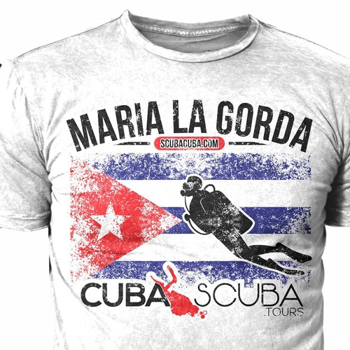Amazing Retro Vintage Scuba Tshirt Design