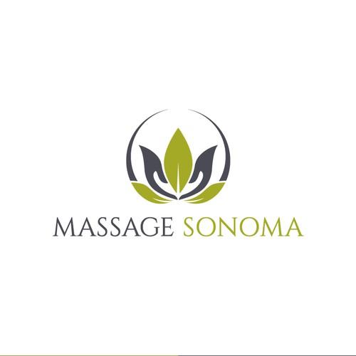 LOGO DESIGN FOR MASSAGE SONOMA