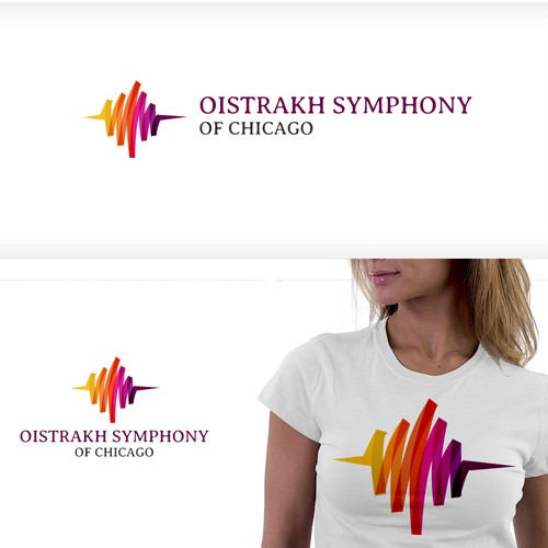 Create a logo for a new orchestra that breathes life into dead music