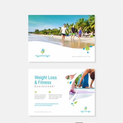 Digital brochure of New Leaf Detox Resort