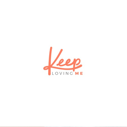 Eye catching logo for Keep Loving Me