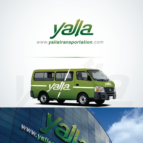 Create the next logo for Yalla