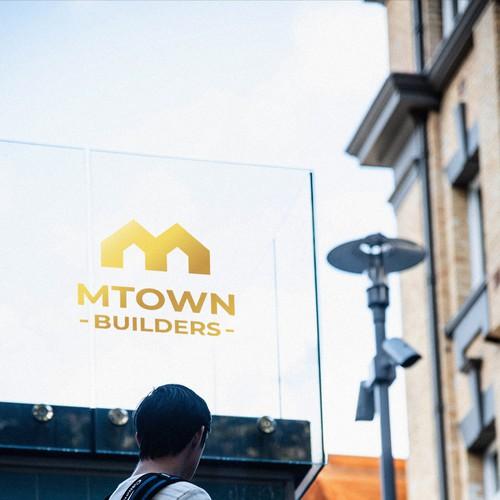 Mtown Builders Logo Concept