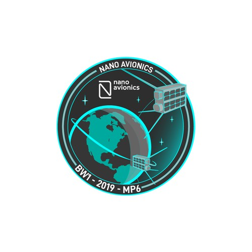 Mission patch/sticker