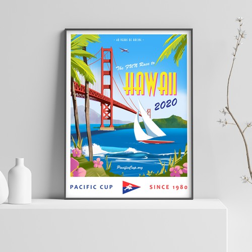 Pacific Cup Poster Concept