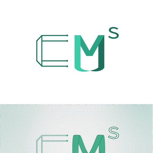 Logo for the computing and mathematical sciences department at Caltech University