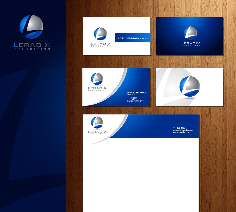 Help Leradix Inc. with a new logo