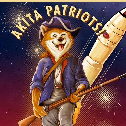 Akita patriots