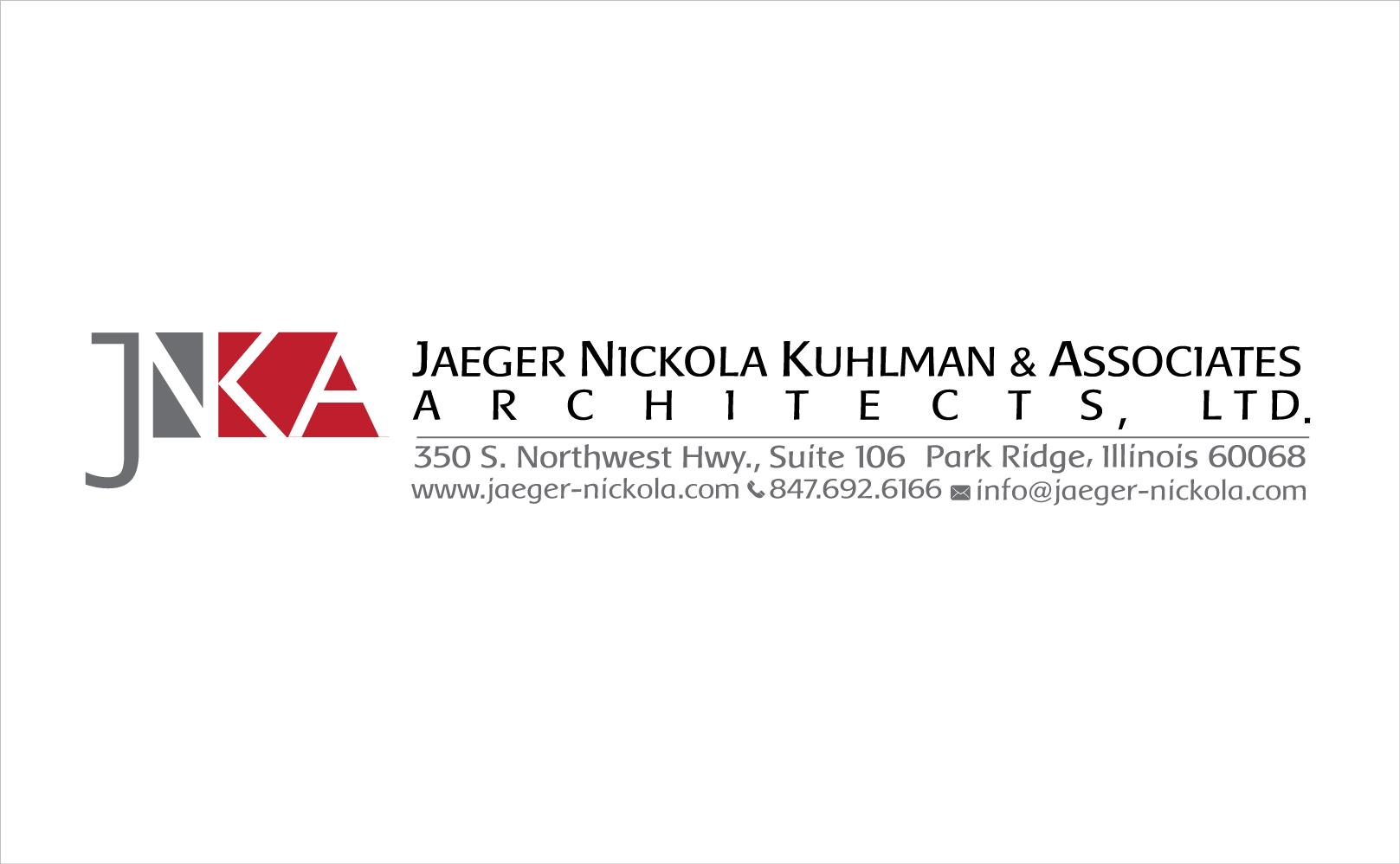 New logo wanted for JNK&A or JNKA or JNK (optional: Jaeger Nickola Kuhlman & Associates Architects, Ltd.)