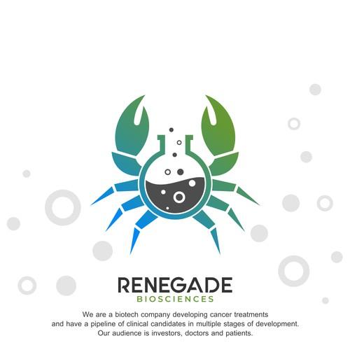 Creative concept for Renegade Biosciences