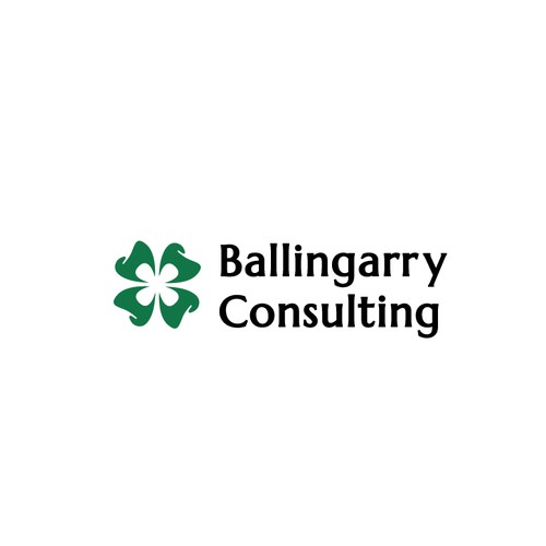 Logo concept for dentist consulting business that integrates Irish culture.