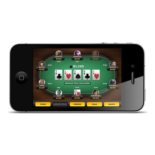 iPhone Poker App - Let's Do It.