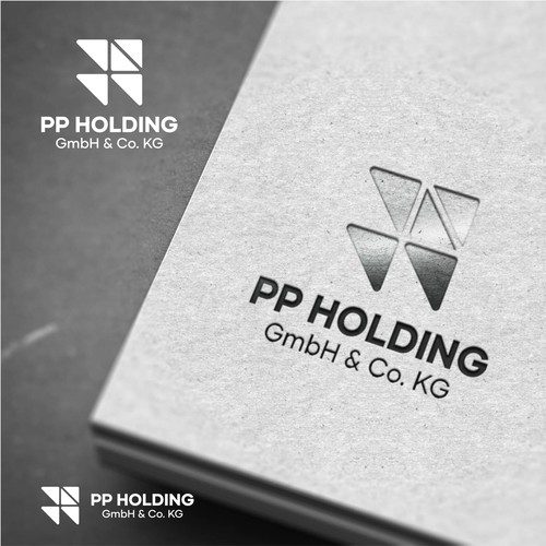 Simple Bold Logo for PP Holding