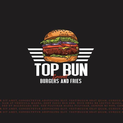 top bun burger