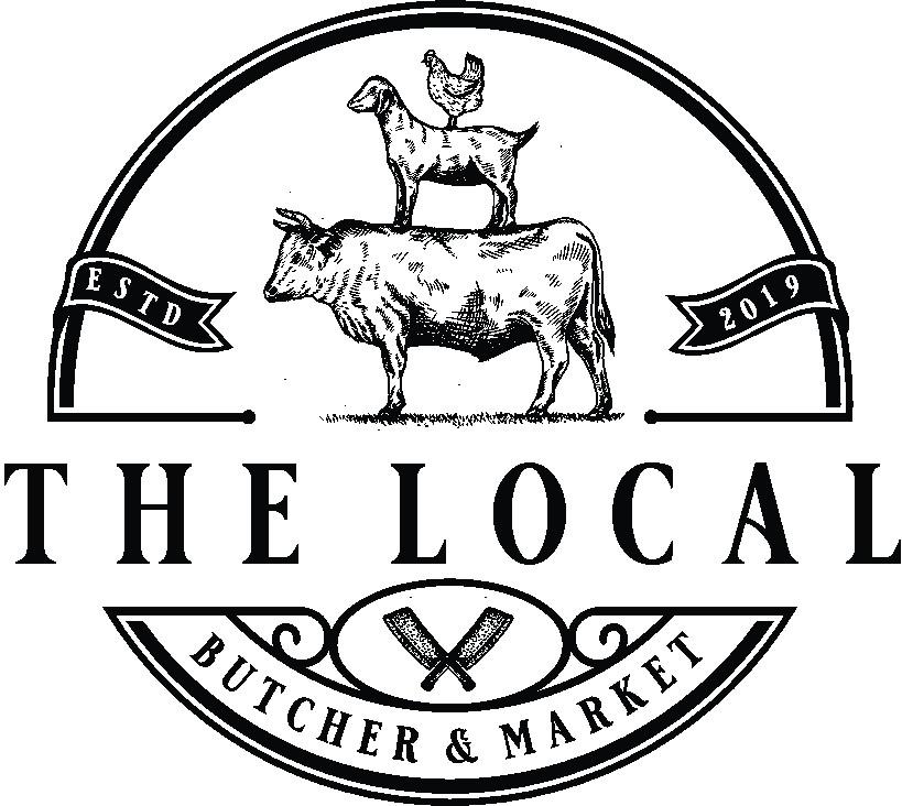 Artistic take on Local butcher shop logo.