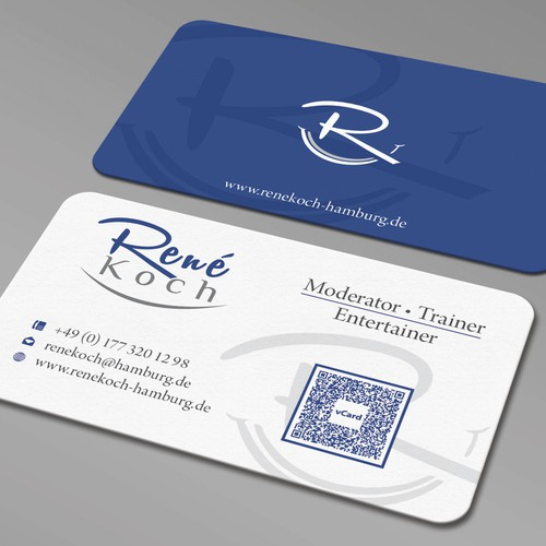 Business Card Design for Rene Koch