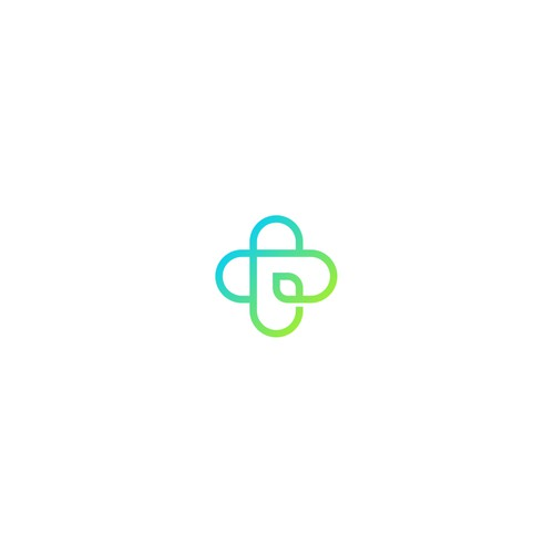 simple logo for Positiv'Touch