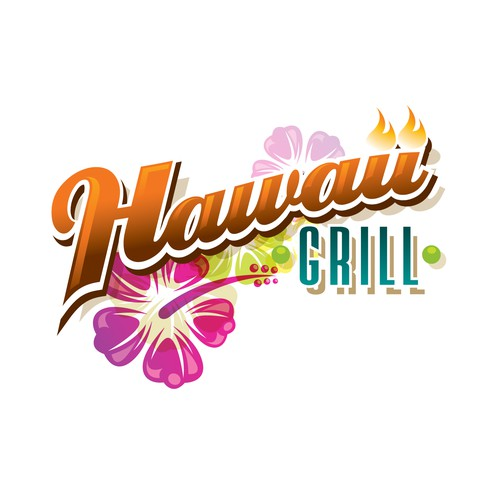 Logo design for Hawaiian Restaurant